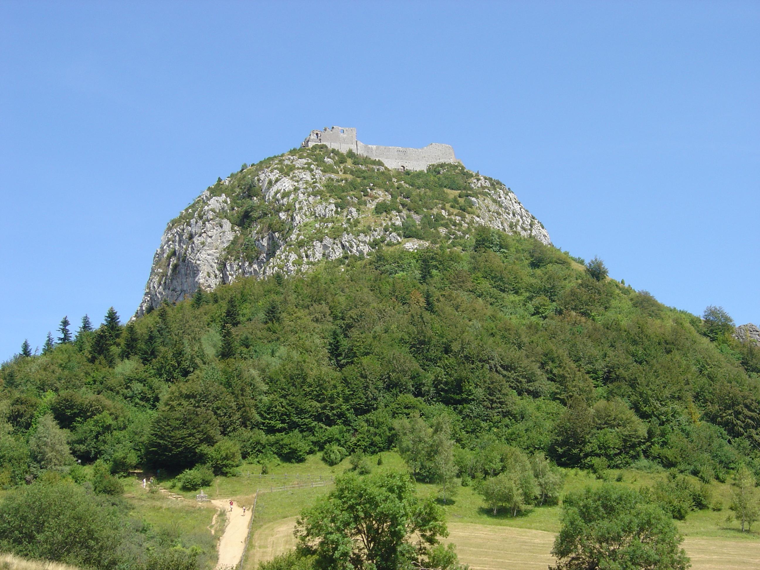 Description montsegur montagne