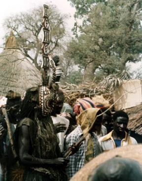 Maschera funeraria Mossi