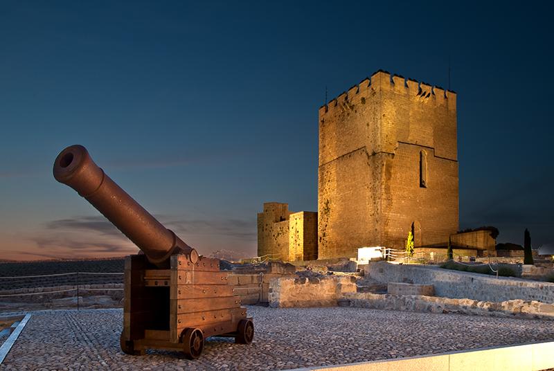 Castillo de alcal la real wikipedia for Parque mueble alcala la real