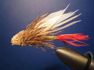 Muddler Minnow trout fly pattern