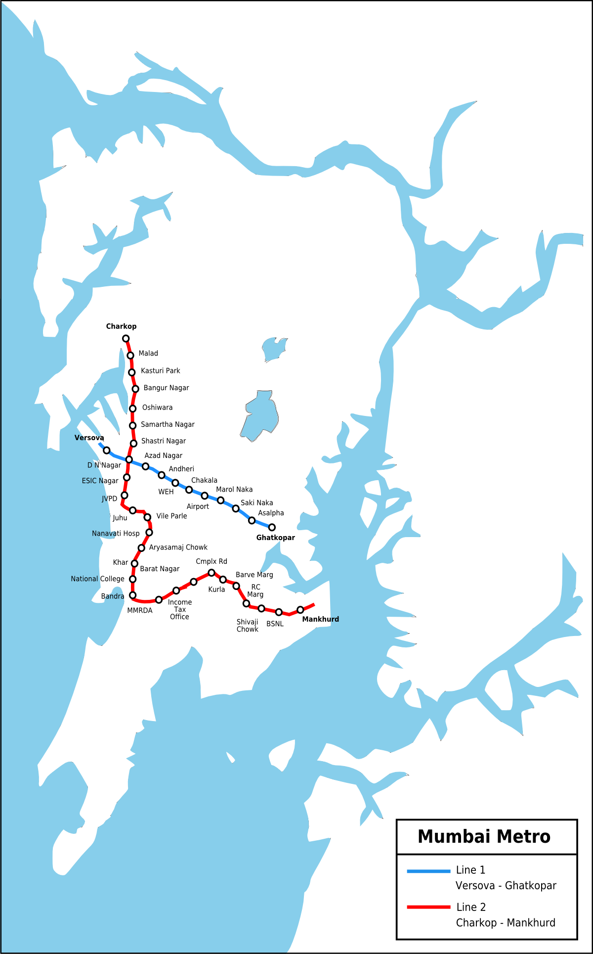Mumbai Metro - Wikipedia, the free encyclopedia