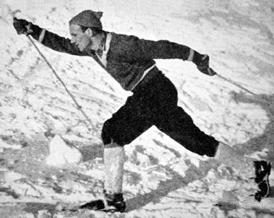 Nils Täpp Swedish cross-country skier