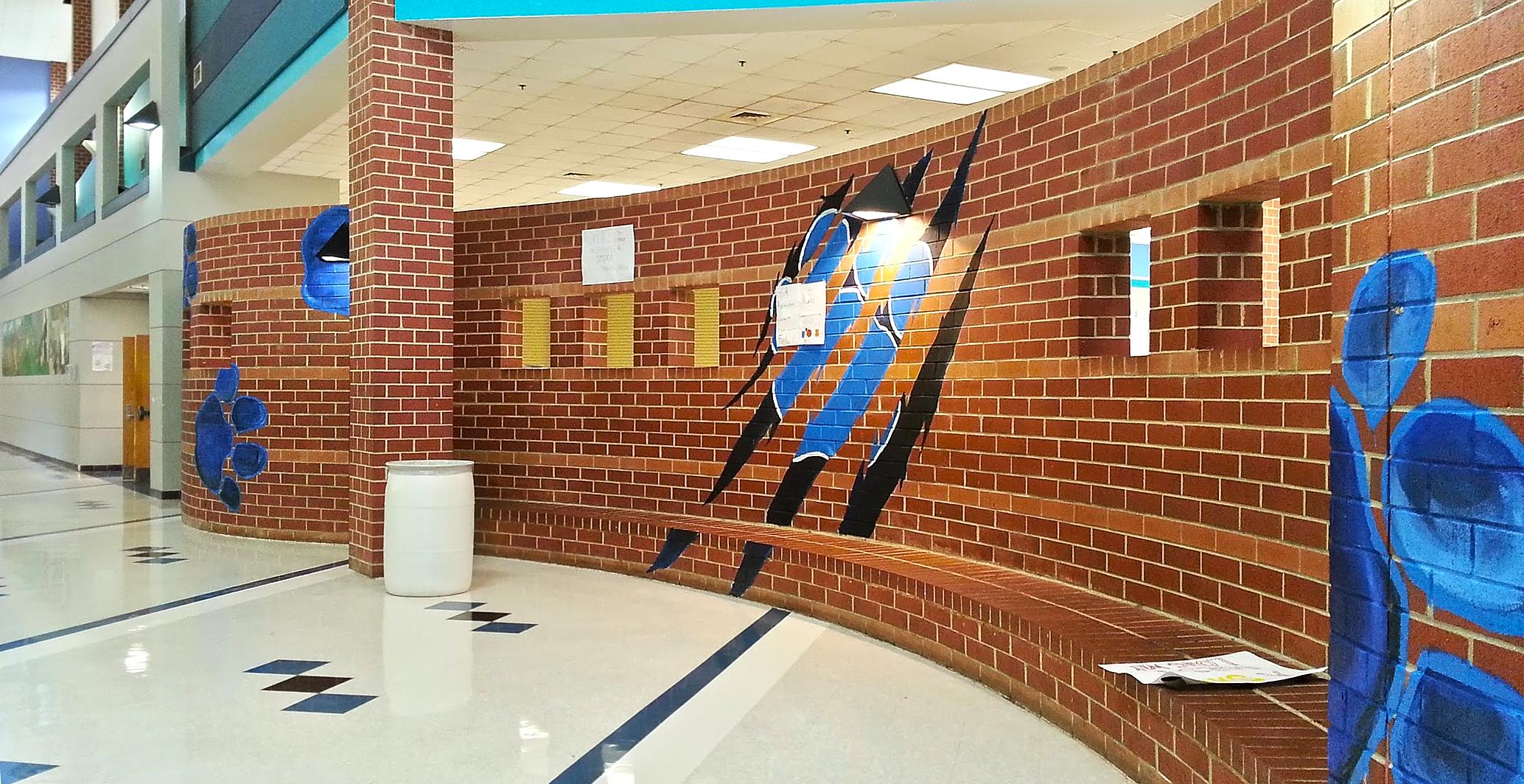 FileNorthwestern High School Interior Art Work