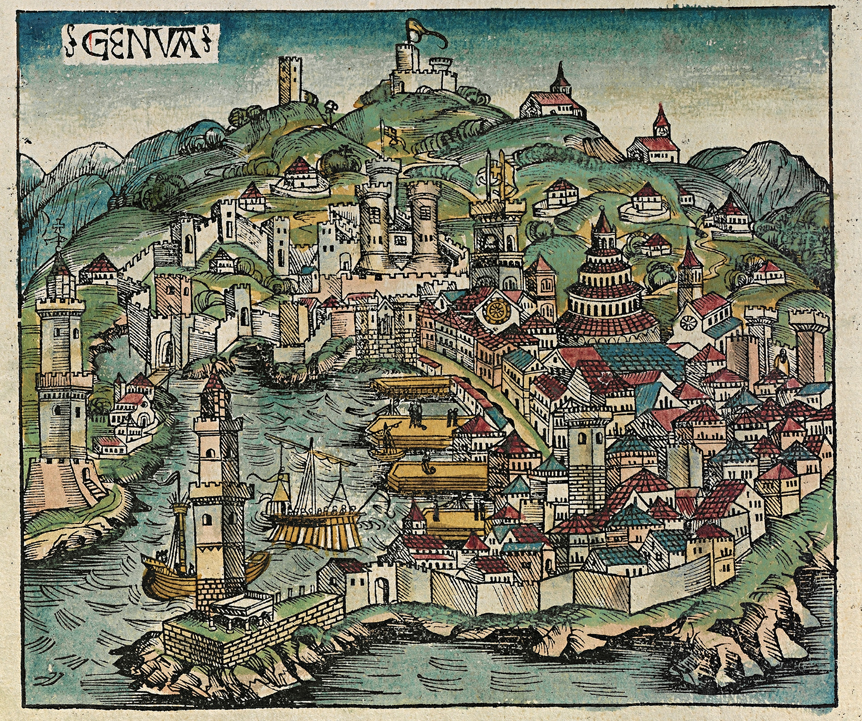 Genoa in the past, History of Genoa