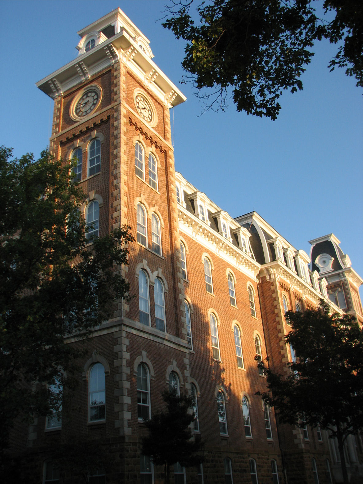 Old Main University Of Arkansas Wikipedia