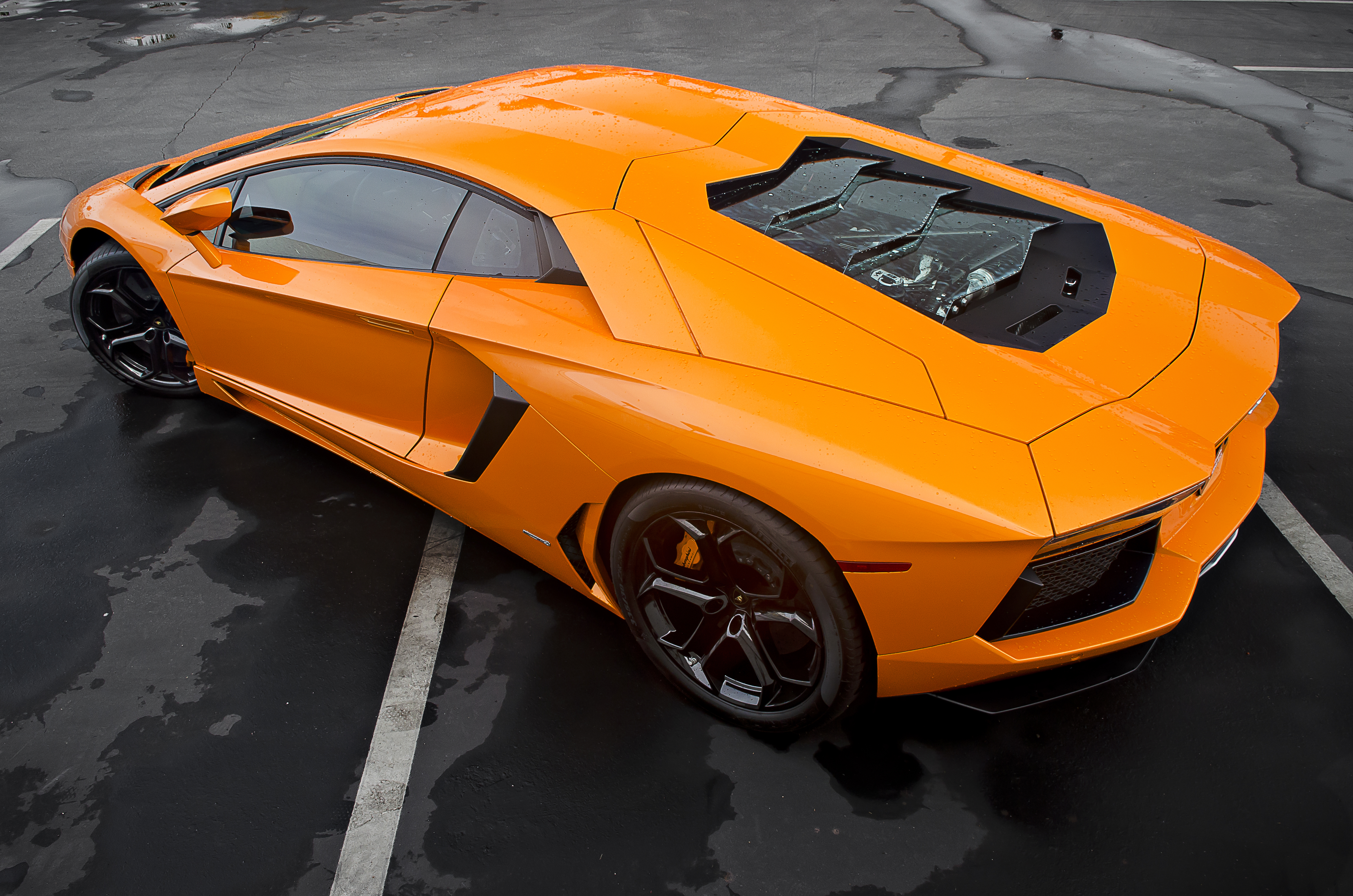 File Orange Lamborghini Aventador Lp700 4 12963397393 Jpg Wikimedia Commons