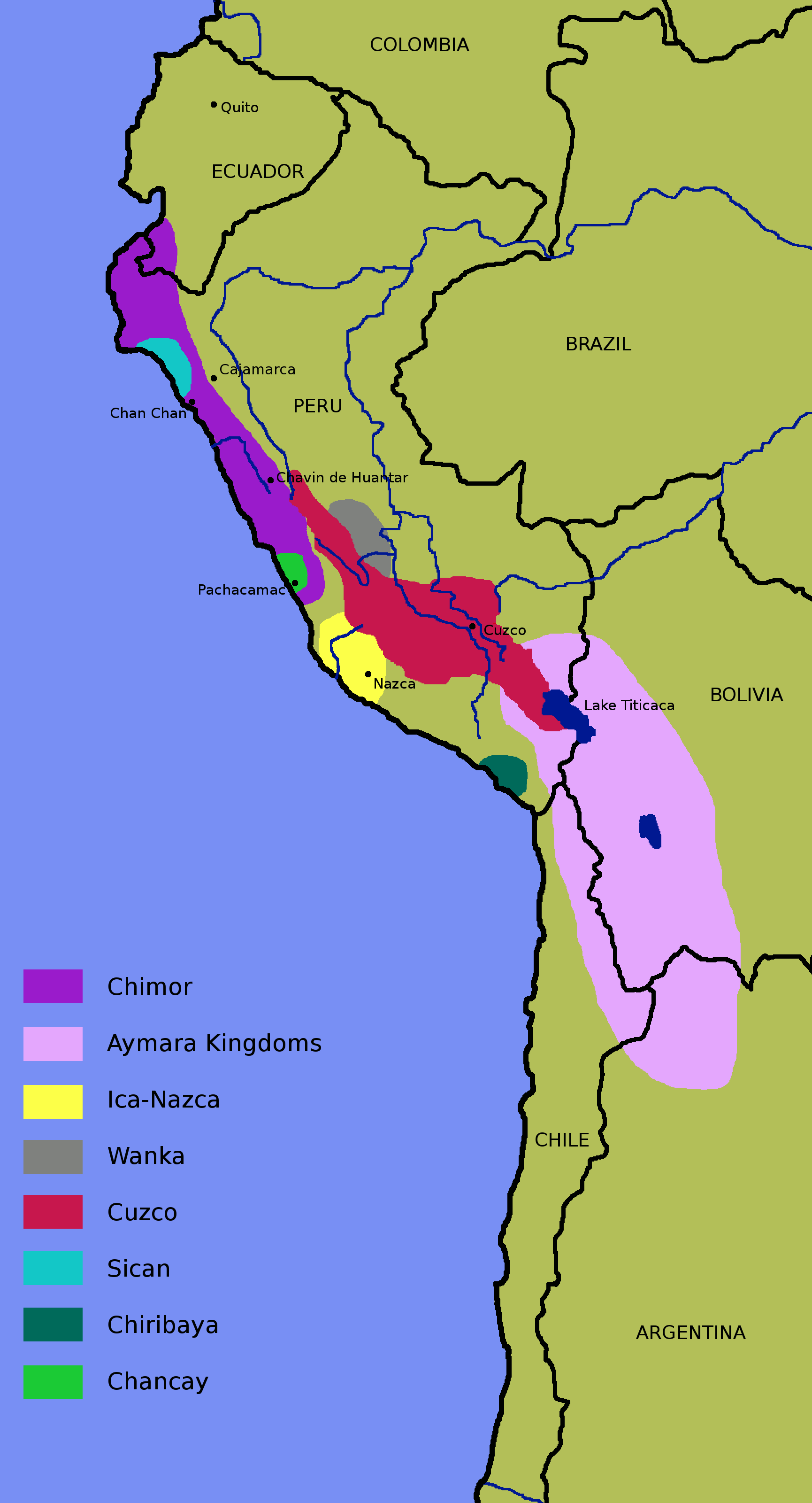 Atlas of the Inca Empire - Wikimedia Commons on greece map, inca warriors, lima map, inca city, inca buildings, inca pyramids, inca people, inca roads, chimu map, inca civilization, brazil map, tenochtitlan map, inca houses, inca trail, mesoamerica map, inca food, china map, inca crops, inca art, inca flag,