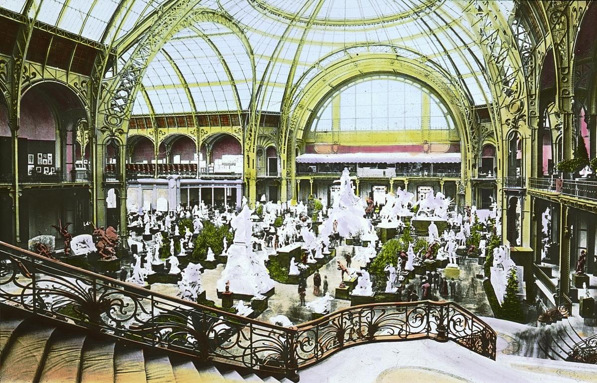 File paris exposition grand palais sculpture display for Expo photo paris