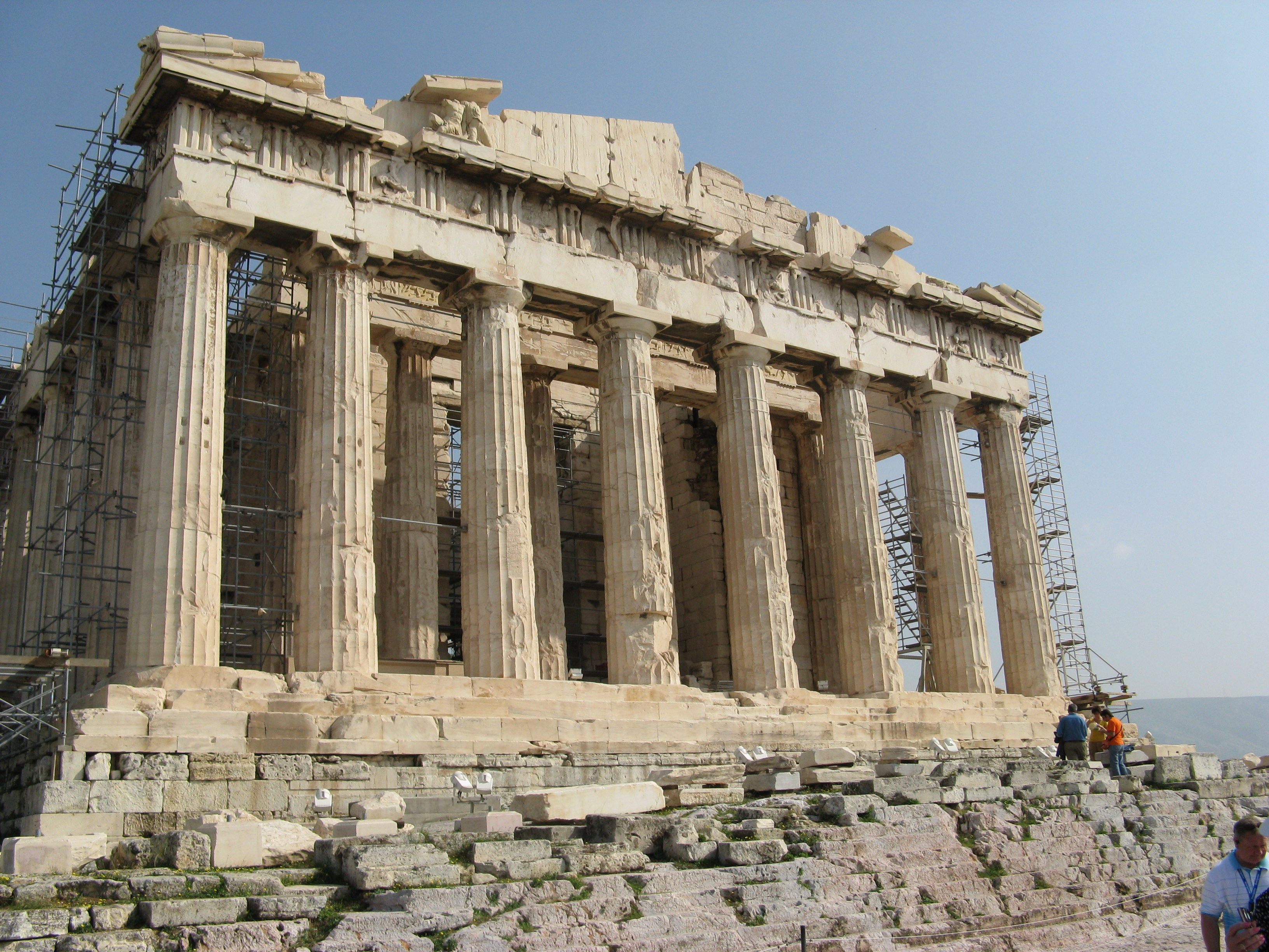 Live Periscope broadcasts on the #Acropolis