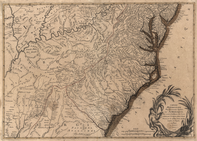Anglois file:partie méridionale des possessions angloise (sic) en