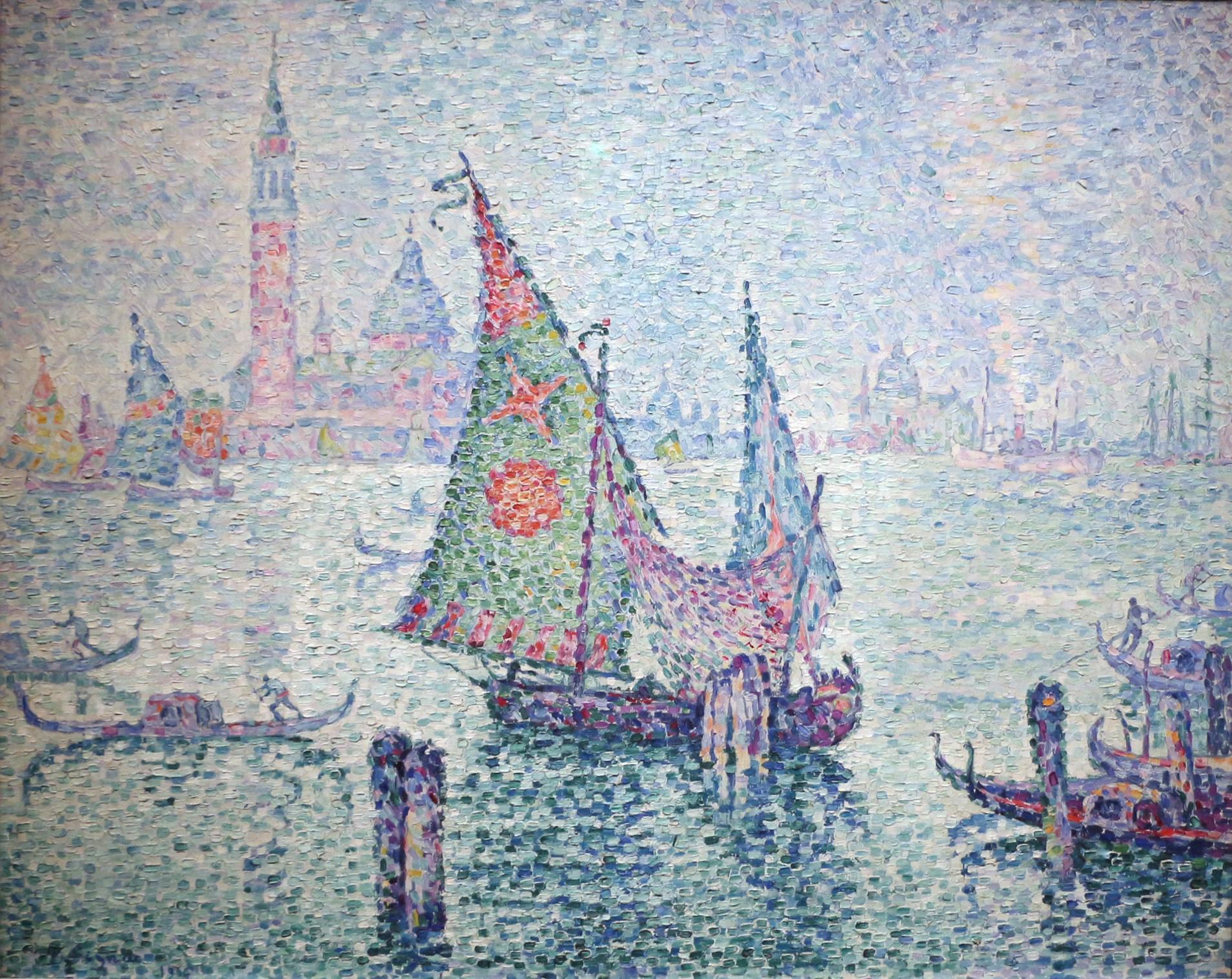 Paul_signac,_la_barca_a_vela_verde,_1904