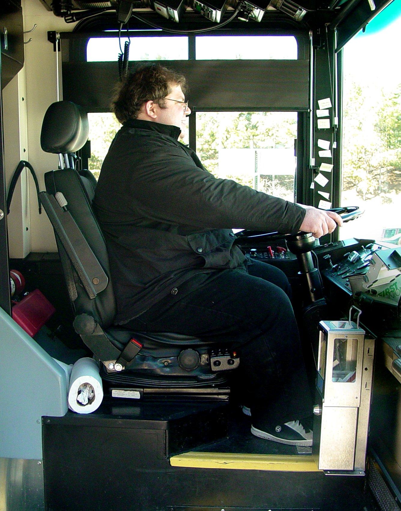 FilePerson in driver39s seat of Harrisonburg Transit