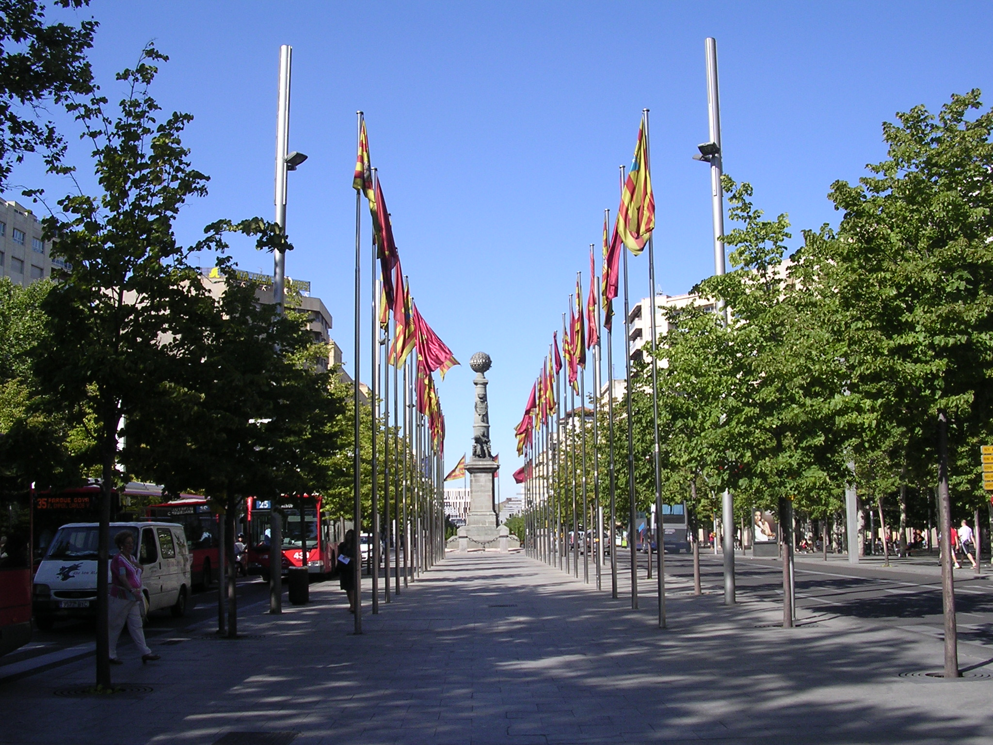 Plaza de Aragón Zaragoza