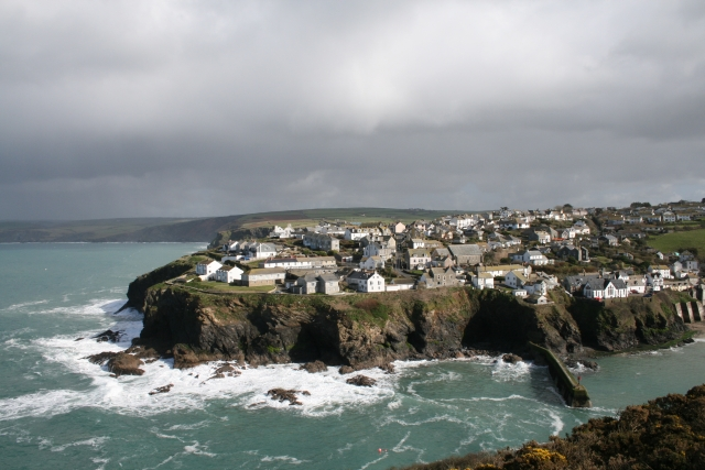 Port Isaac from Lobber Point - geograph.org.uk - 721797