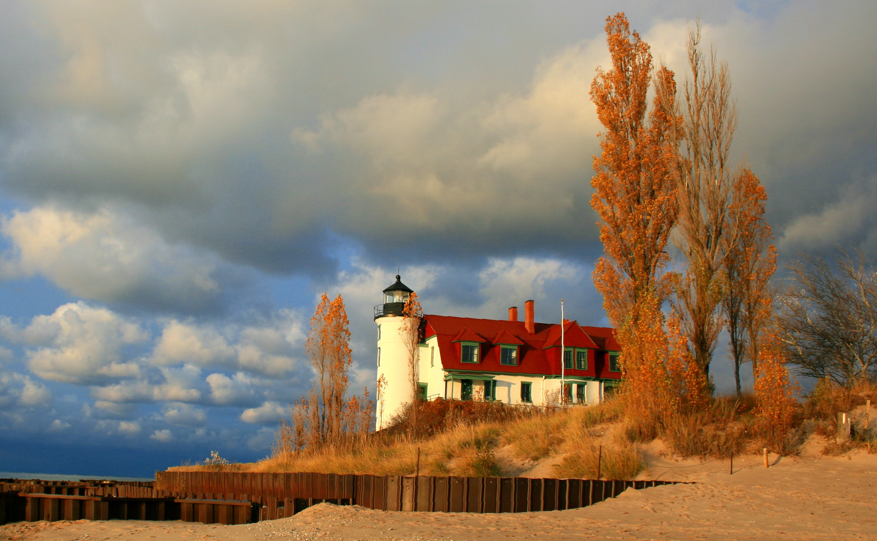 Frankfort MI Beach