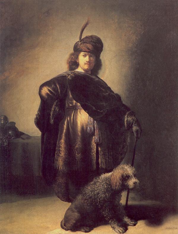 Uno de los primeros autorretratos en los que el maestro se presenta disfrazado.