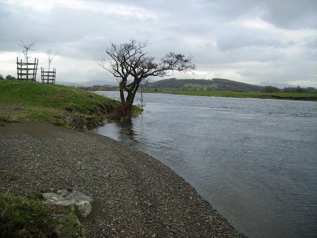 River Lune, Sandbeds - geograph.org.uk - 302301