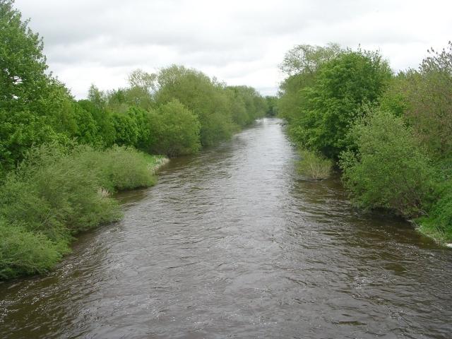 River Wharfe from Footbridge - geograph.org.uk - 1289877