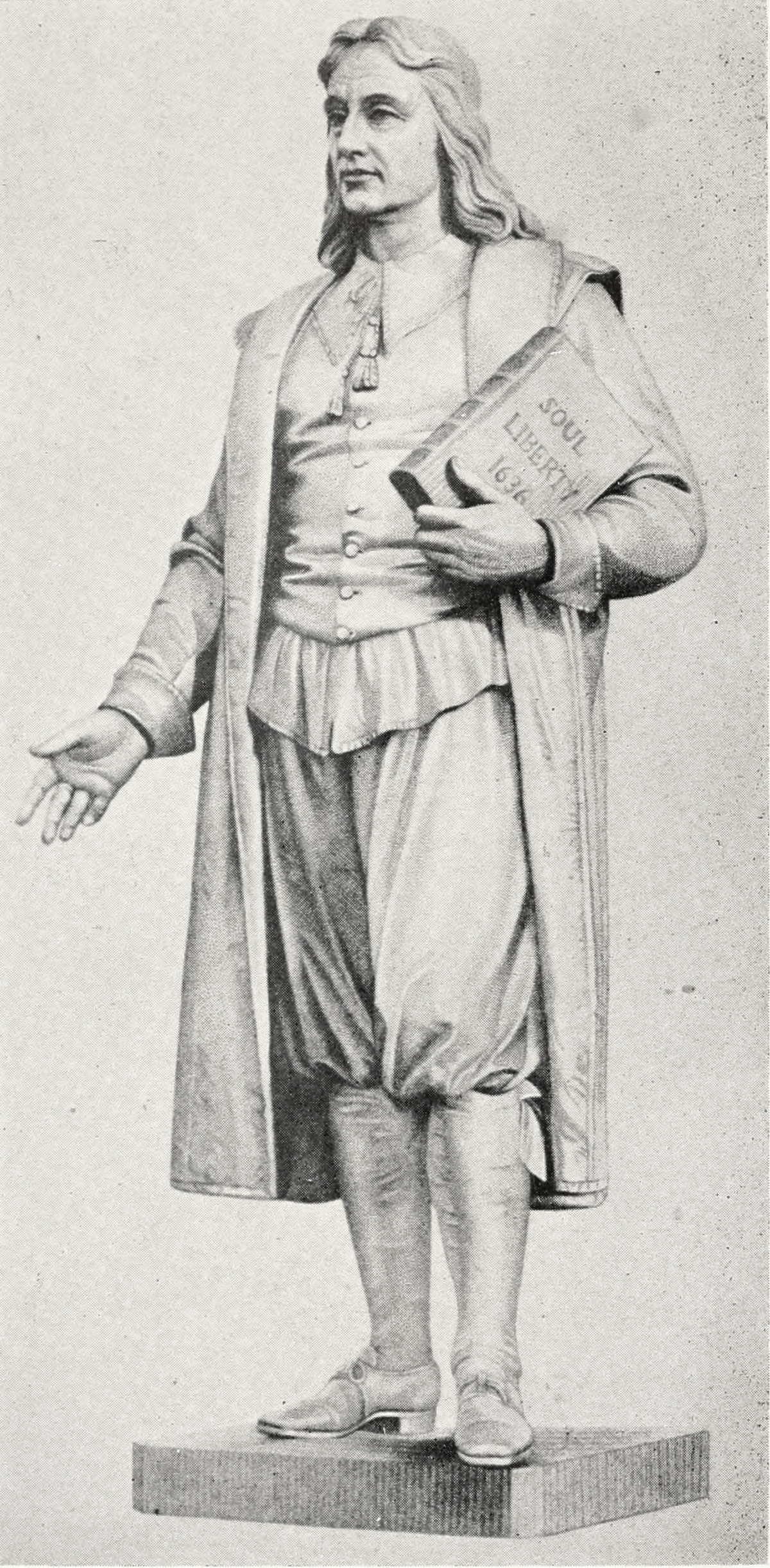 Depiction of Roger Williams