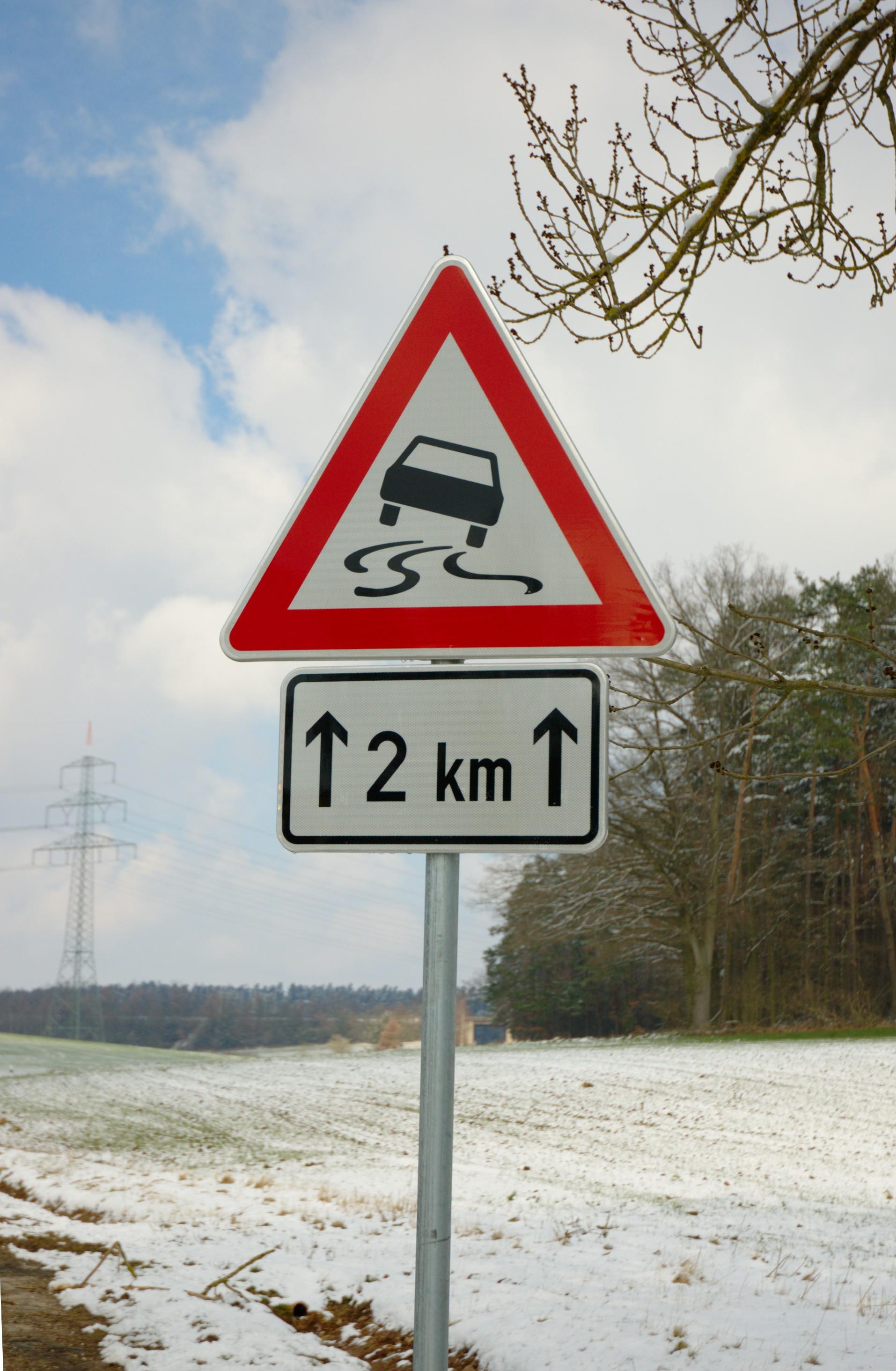 Bildtafel der Verkehrszeichen in der Bundesrepublik