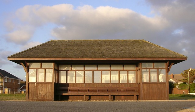 Shelter on the sea front, Milford-on-Sea - geograph.org.uk - 109312