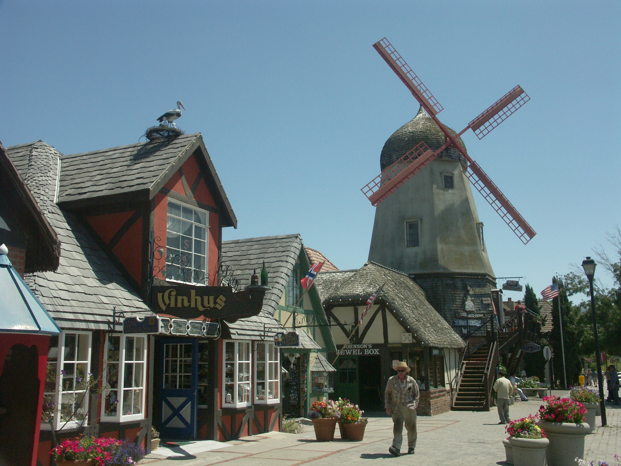 Solvang Romantic West Coast Road Trip