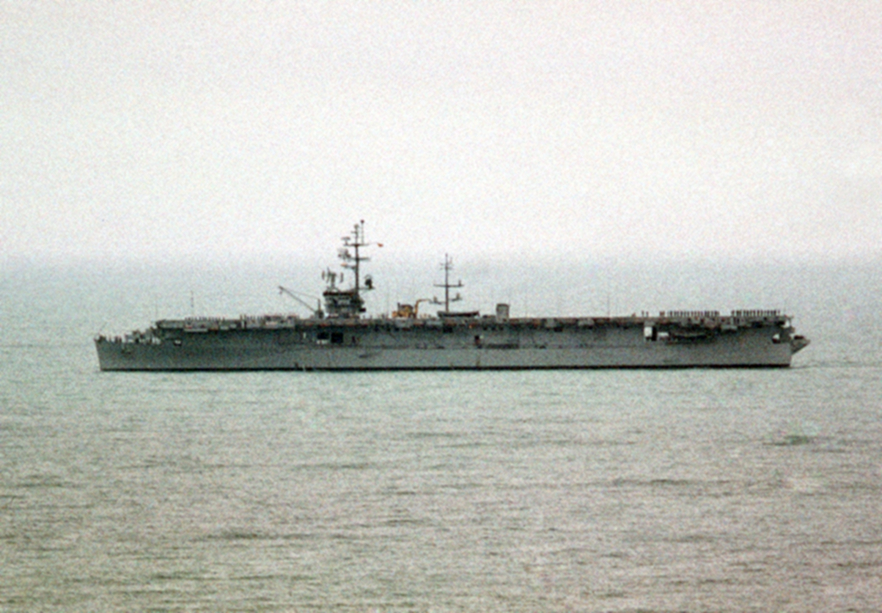 File:Spanish aircraft carrier Dédalo underway in 1976.JPEG ... Spanish Aircraft Carrier Dedalo
