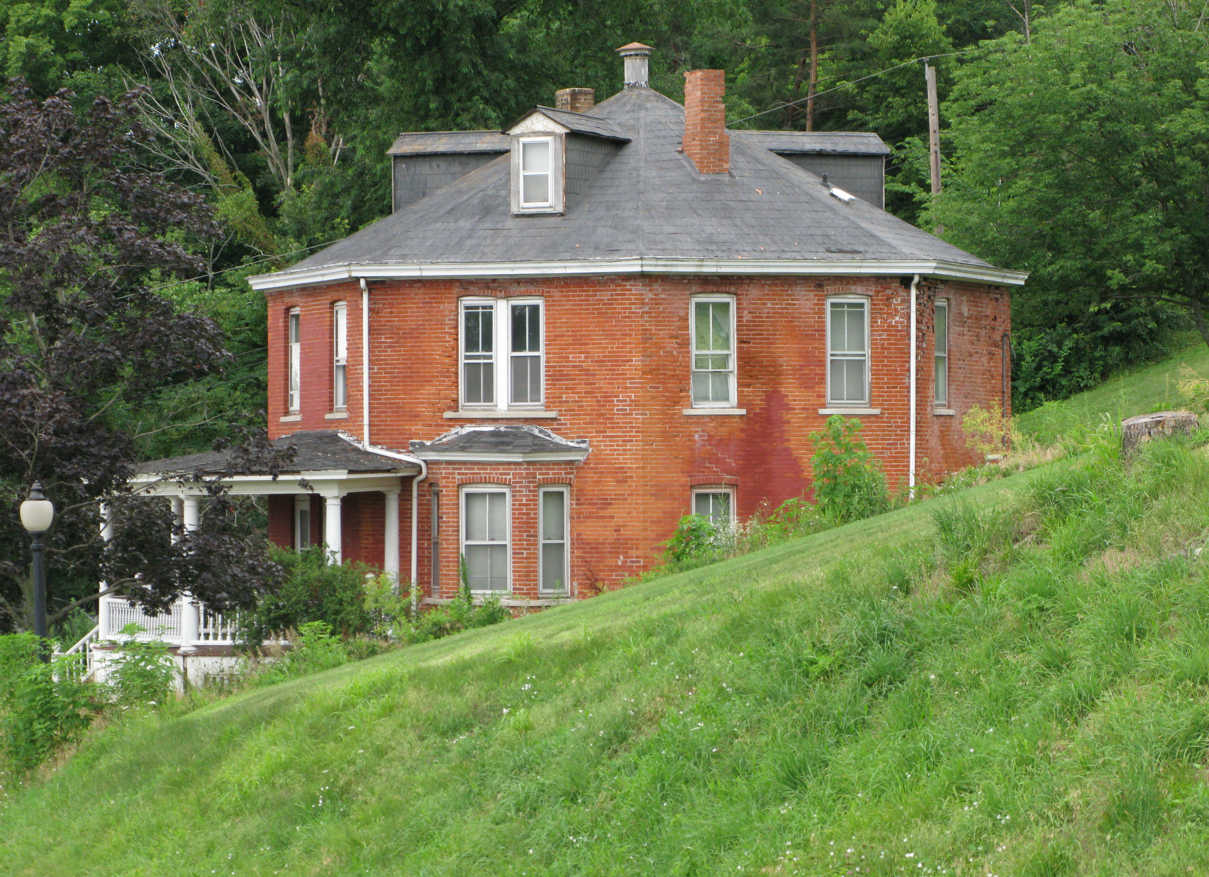File Sparland Octagon House 1111 Jpg Wikimedia Commons