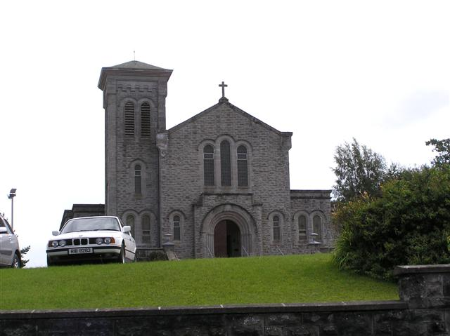 St Joseph's RC Church, Ederney It is located along Church Road