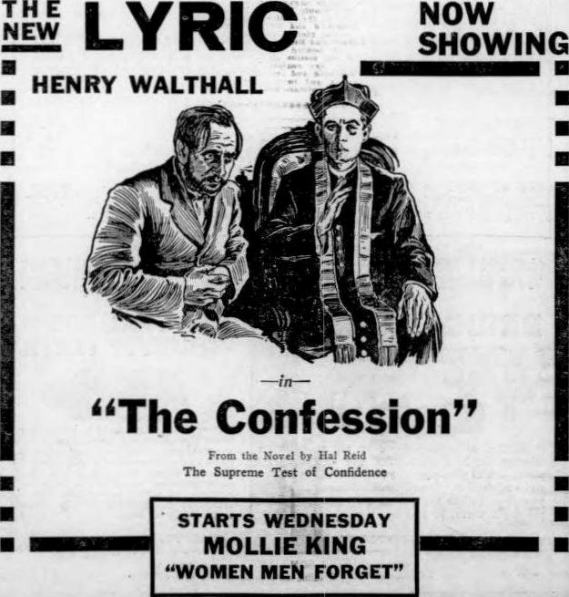 Image result for The Confession 1920