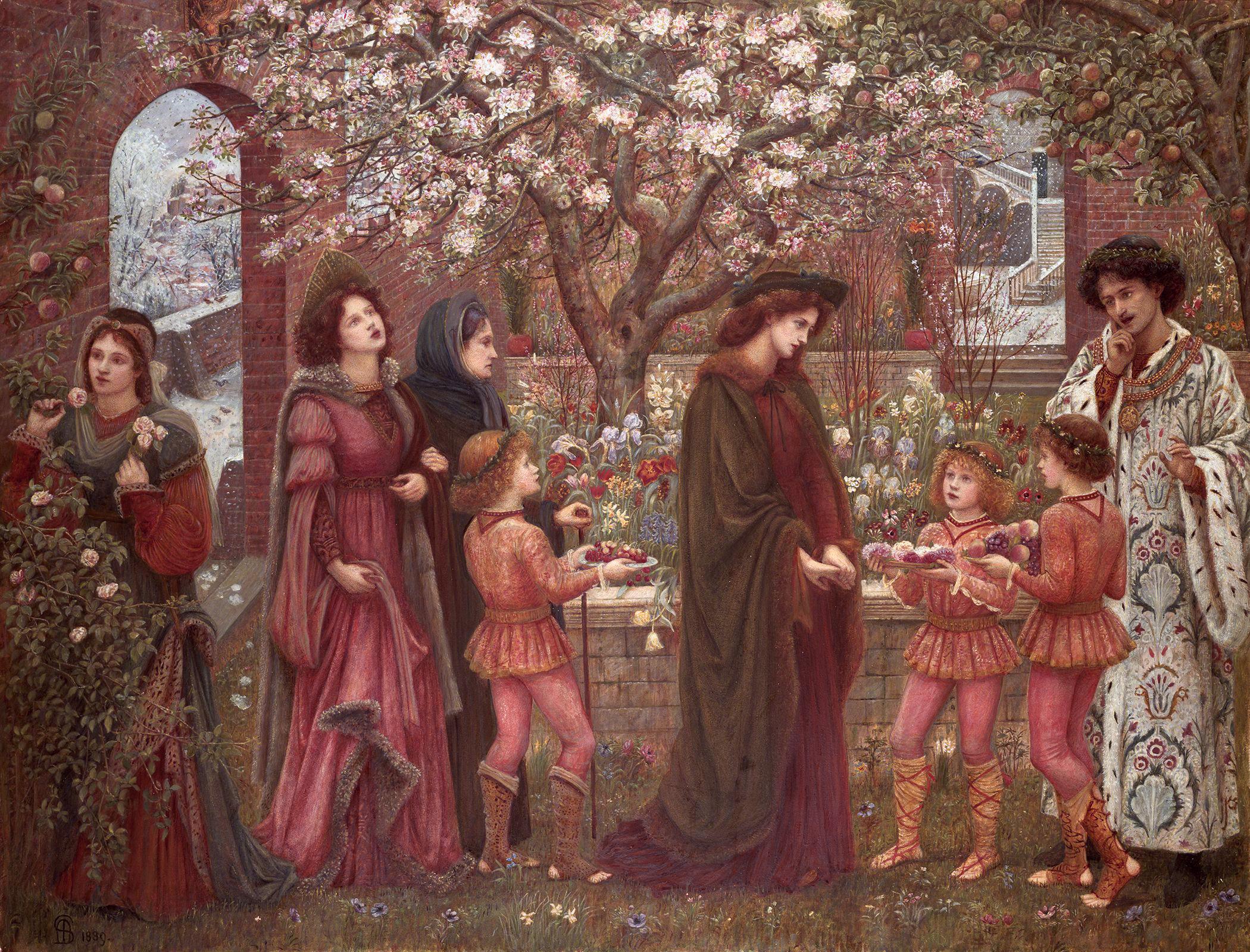 Image result for The Enchanted Garden of Messer Ansaldo
