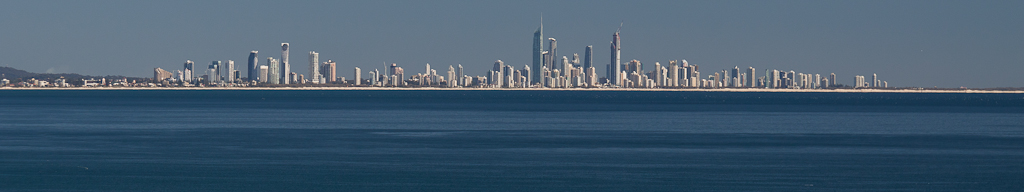 The Gold Coast, QLD skyline