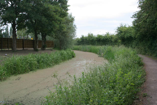 The Nottingham Canal at Cossall Common - geograph.org.uk - 1356412