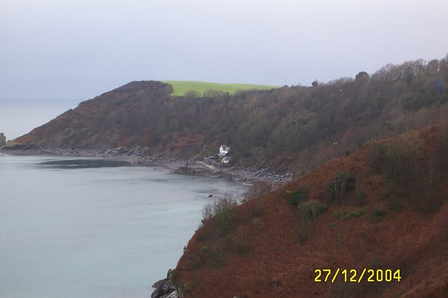 The Ropehaven Cliffsnear to the Blackhead, Cornwall - geograph.org.uk - 287462
