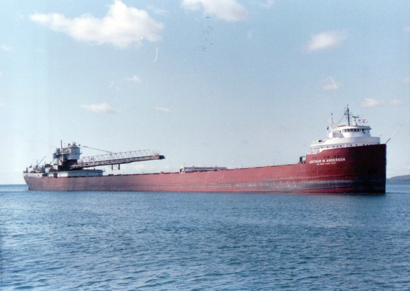 The_SS_Arthur_M._Anderson_in_Two_Harbors_Sep_1988_(4505017793).jpg