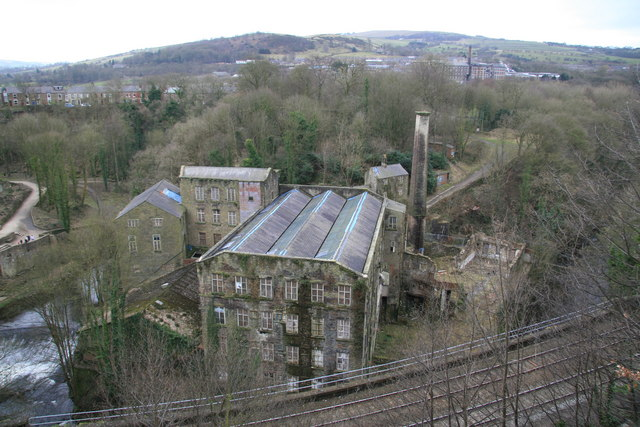 Torr Vale Mill, New Mills - geograph.org.uk - 1206699