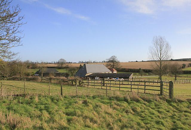 Totford Farm seen from Wayfarer's Walk - geograph.org.uk - 302788
