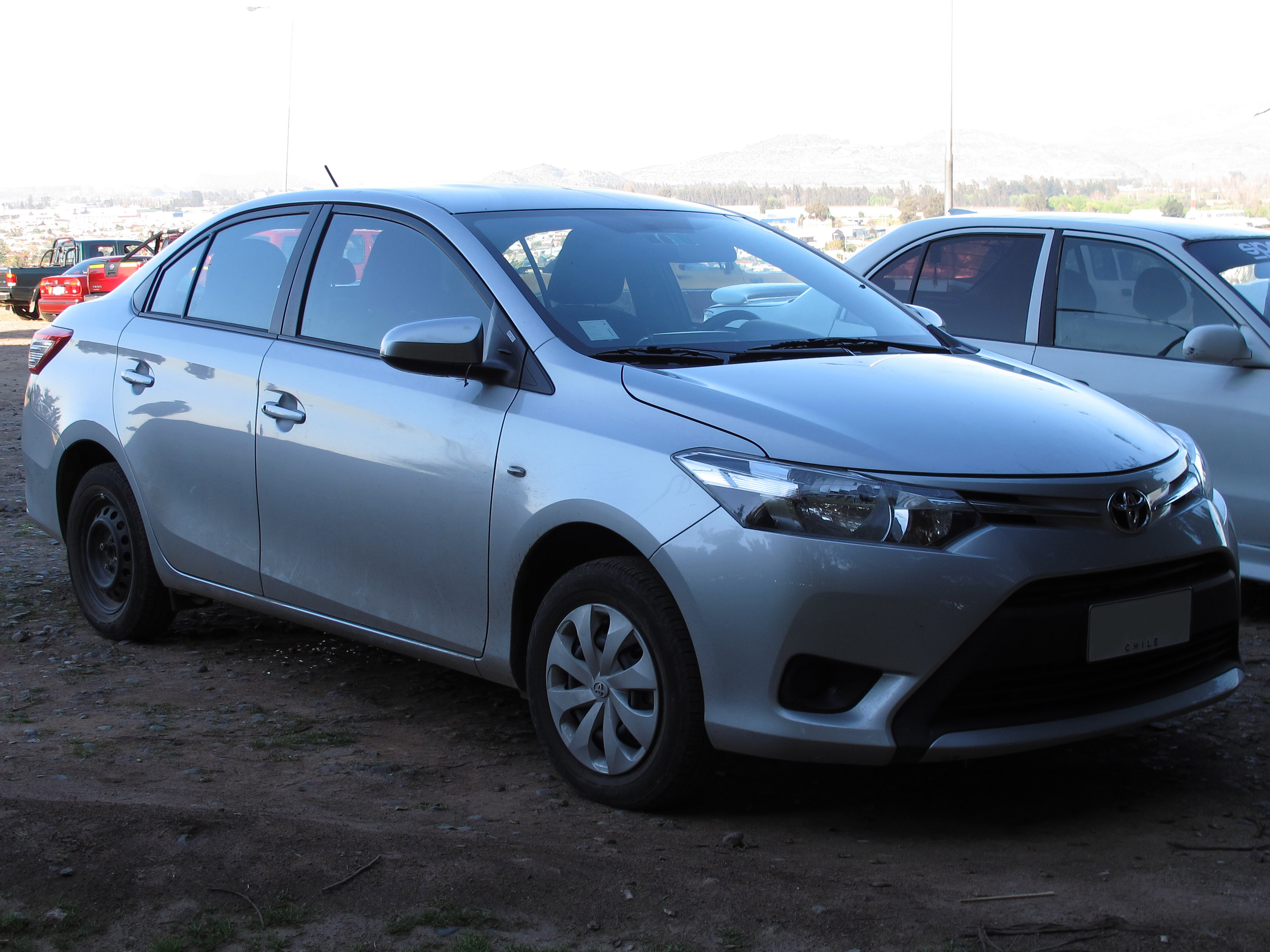 File Toyota Yaris 1 5e Xli Sedan 2014 15168761917 Jpg