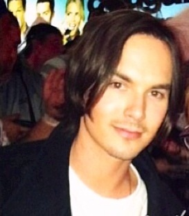 Tyler Blackburn in 2012.