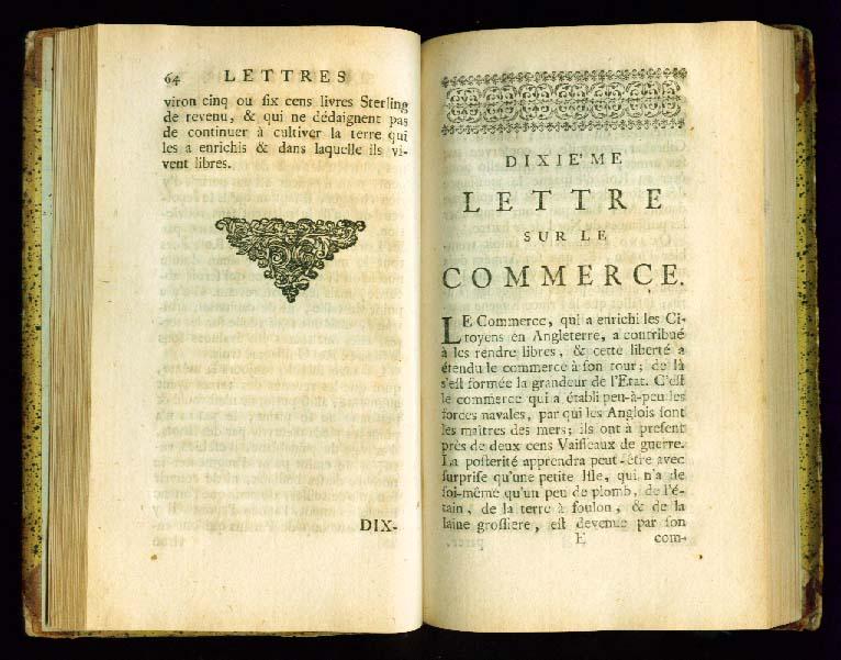 VOLTAIRE Lettre sur la Commerce Anglois 1735-10.jpg