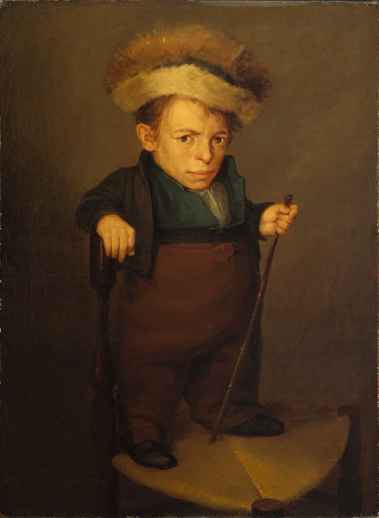 Висенте Лопес и Портанья - Арагонский карлик - 1920.8 - Fogg Museum.jpg