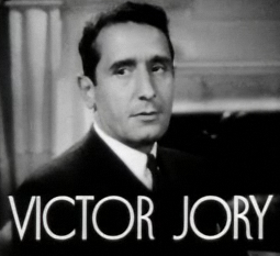 Cropped screenshot of Victor Jory from the tra...