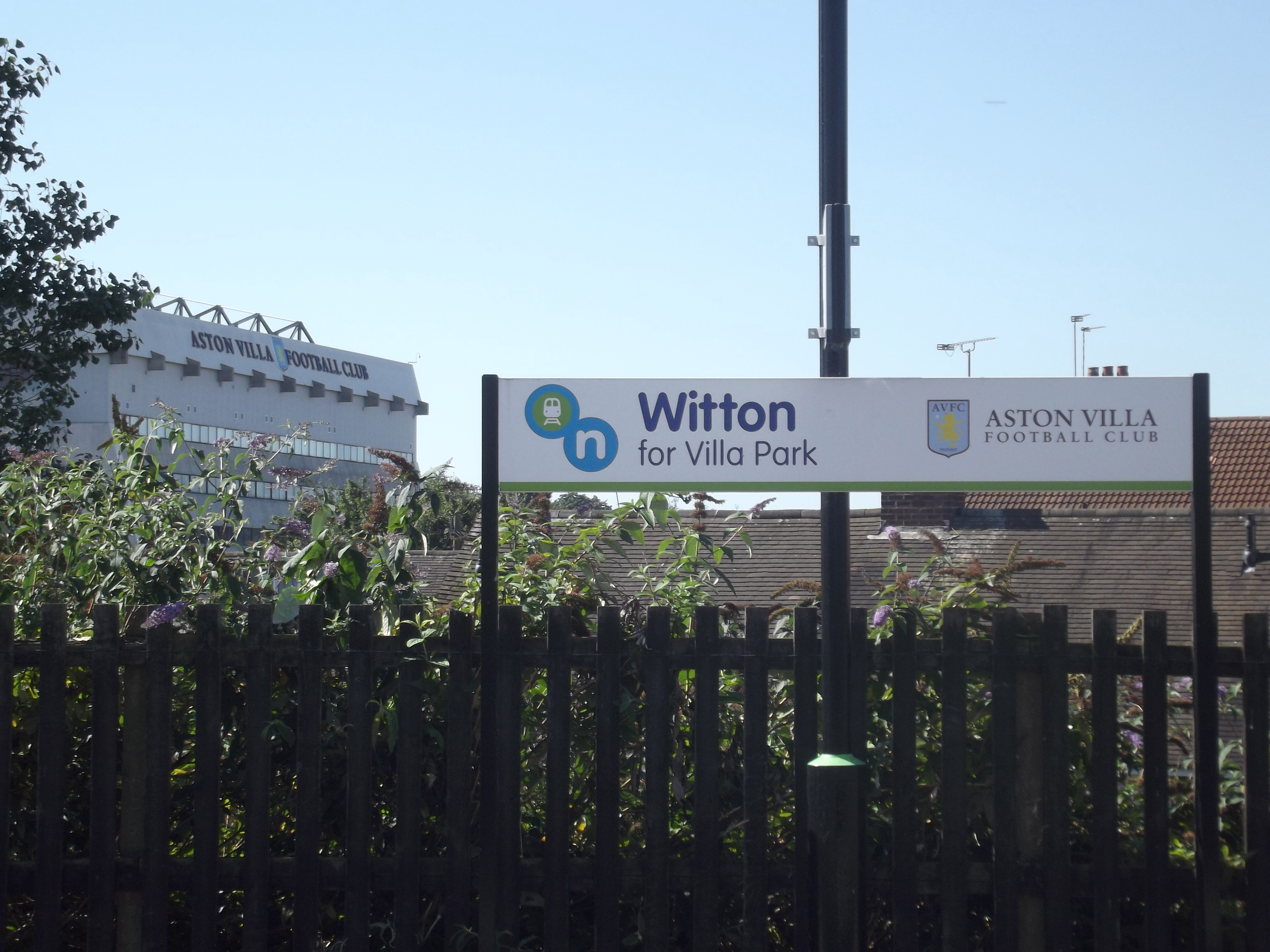 What Station To Get To For Aston Villa
