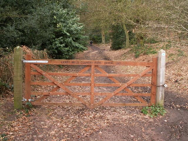 Warren Lane (bridleway), Kendal End - geograph.org.uk - 127407