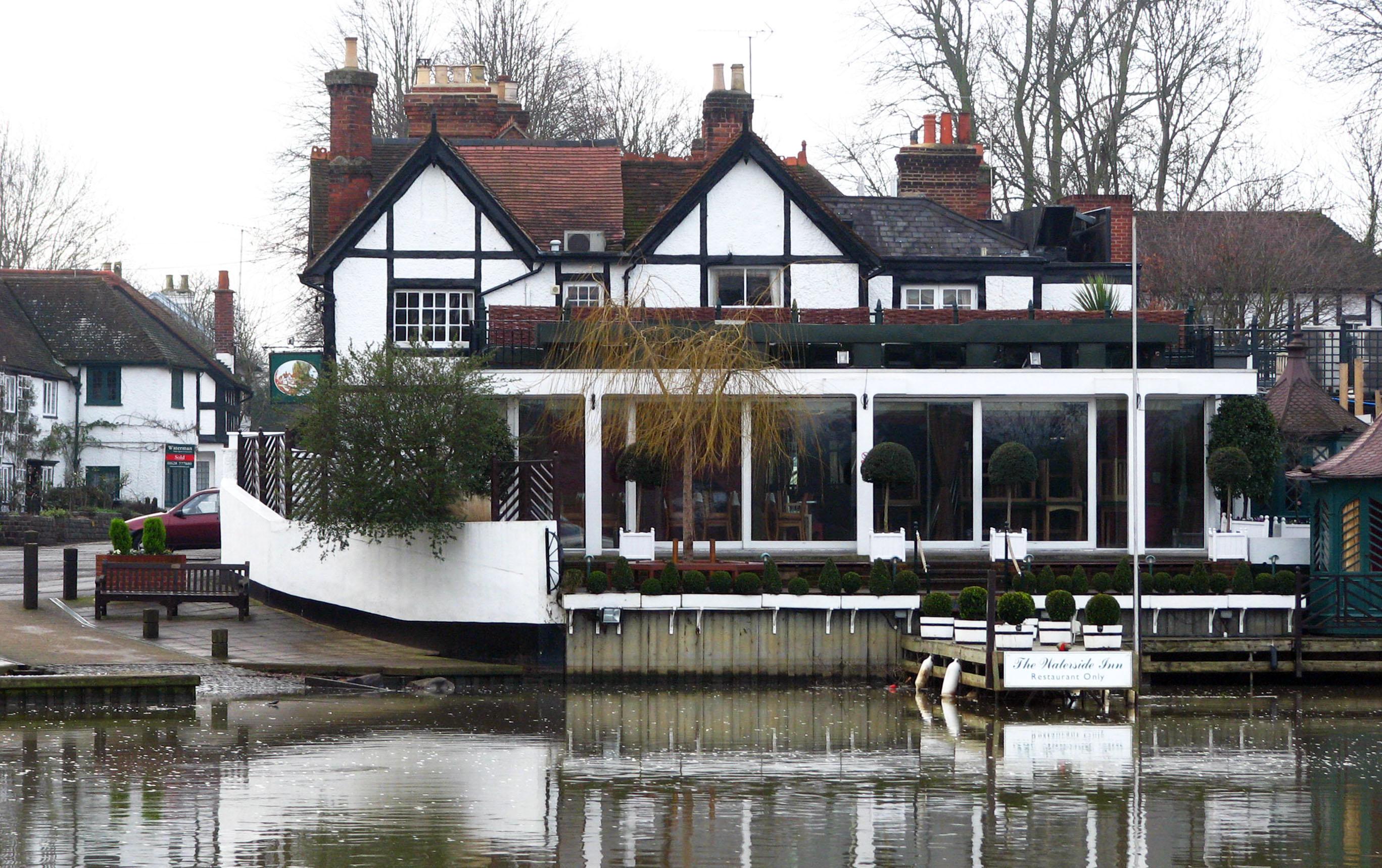 Waterside Inn Bray Berkshire Nancy The