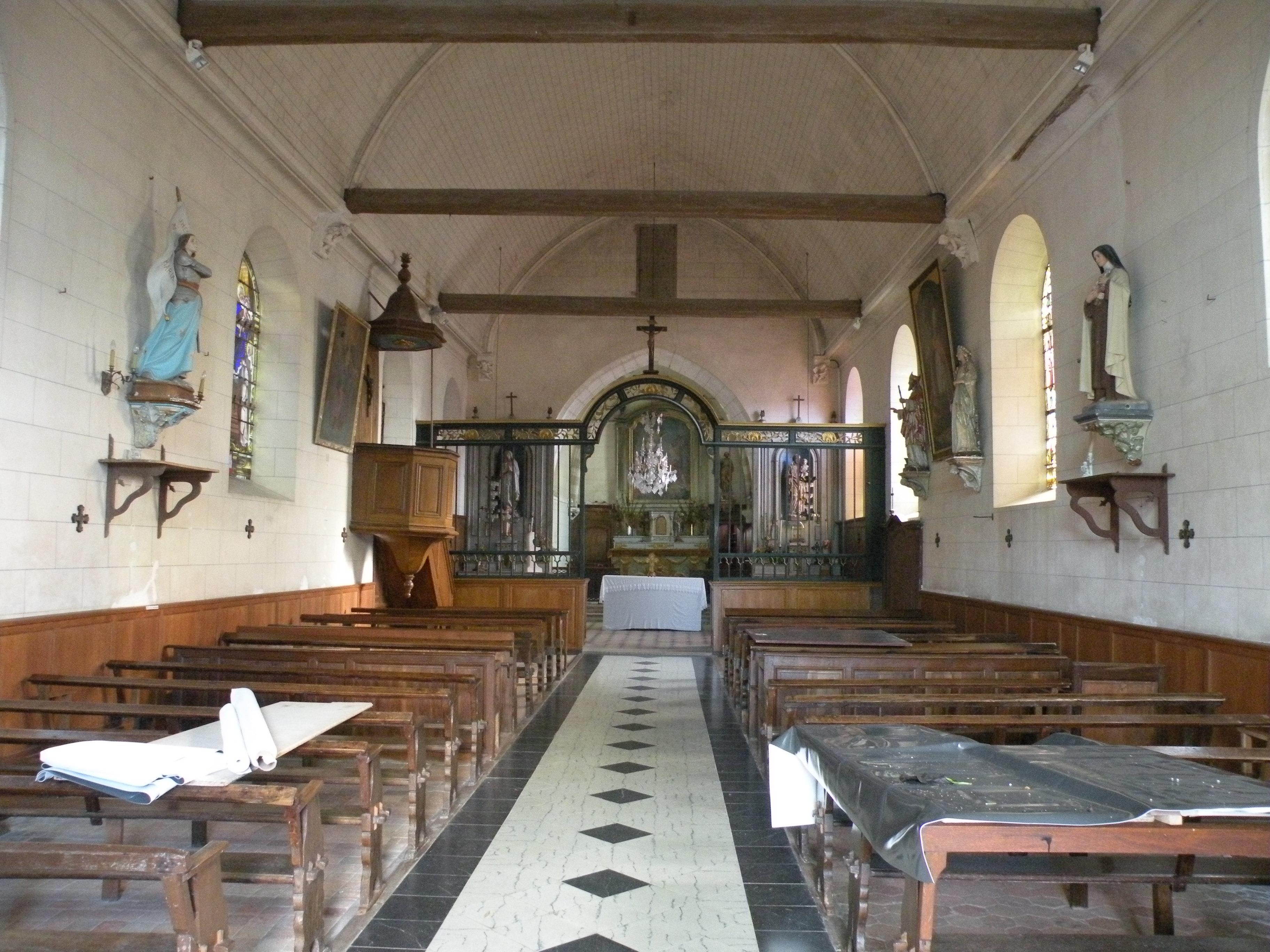 fileglise saint lucien de nivillers interieur 1jpg aglise saint lucien de