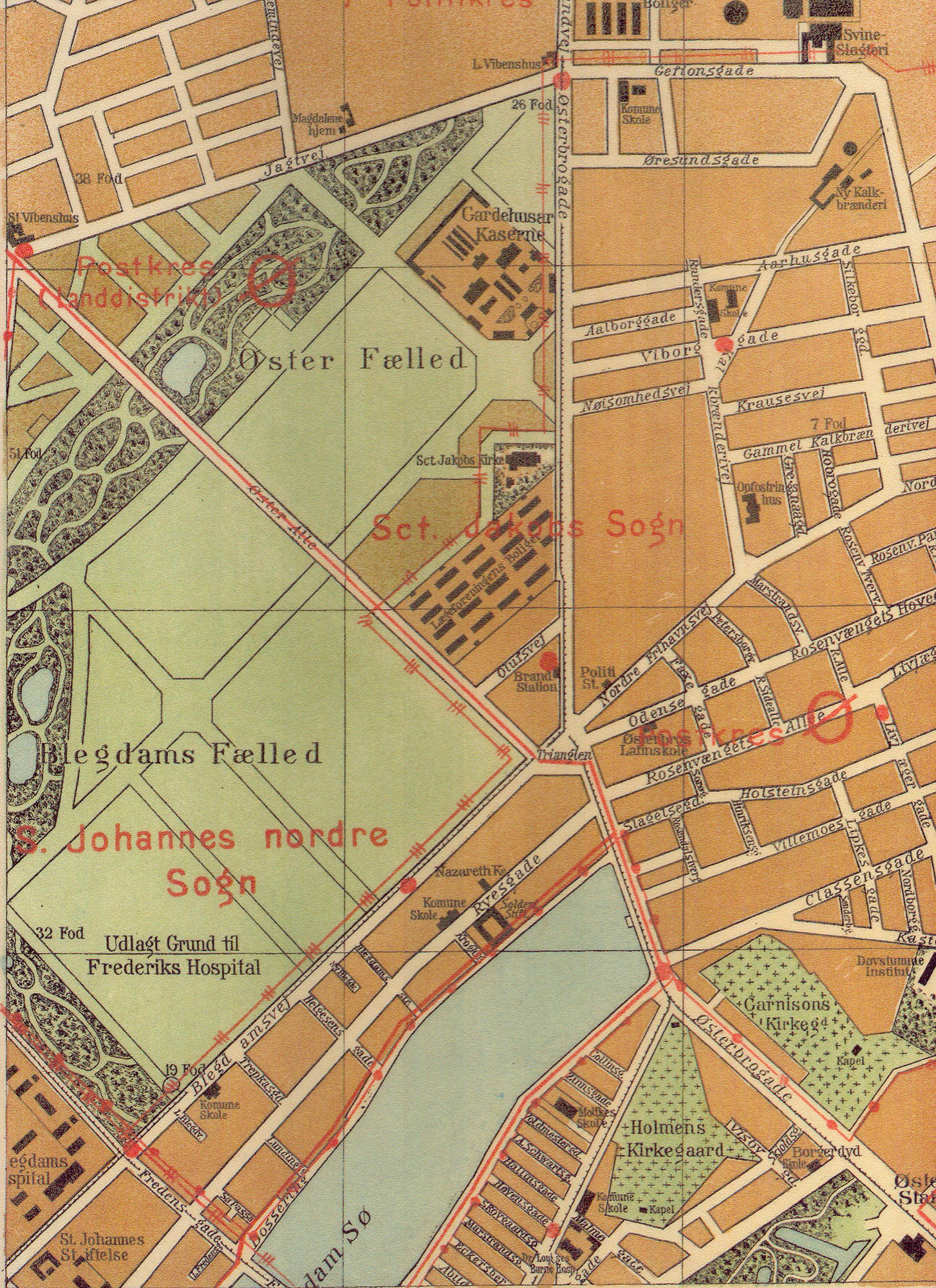 File Osterbro Map 1896 Jpg Wikimedia Commons