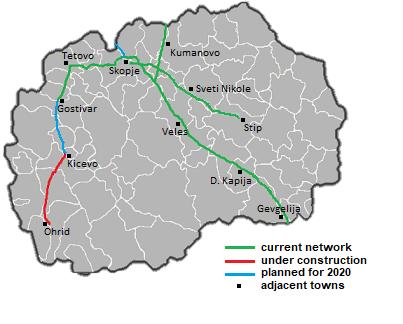 Makedonija uzvraća za vakcine %D0%9C%D0%9A_highways_2019_revised