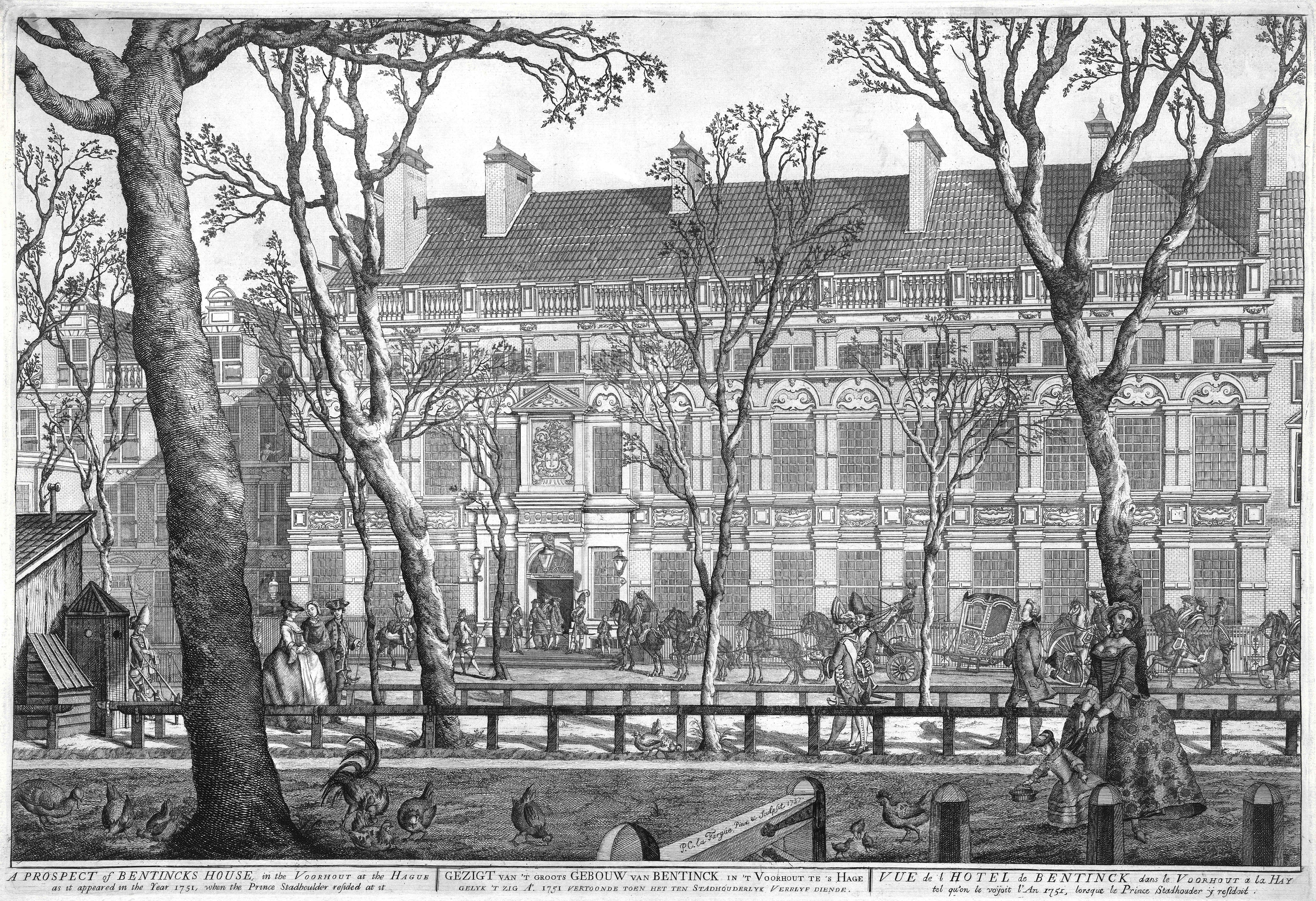 Datei:1751 huis van willem bentinck aan het voorhout 7 te den haag