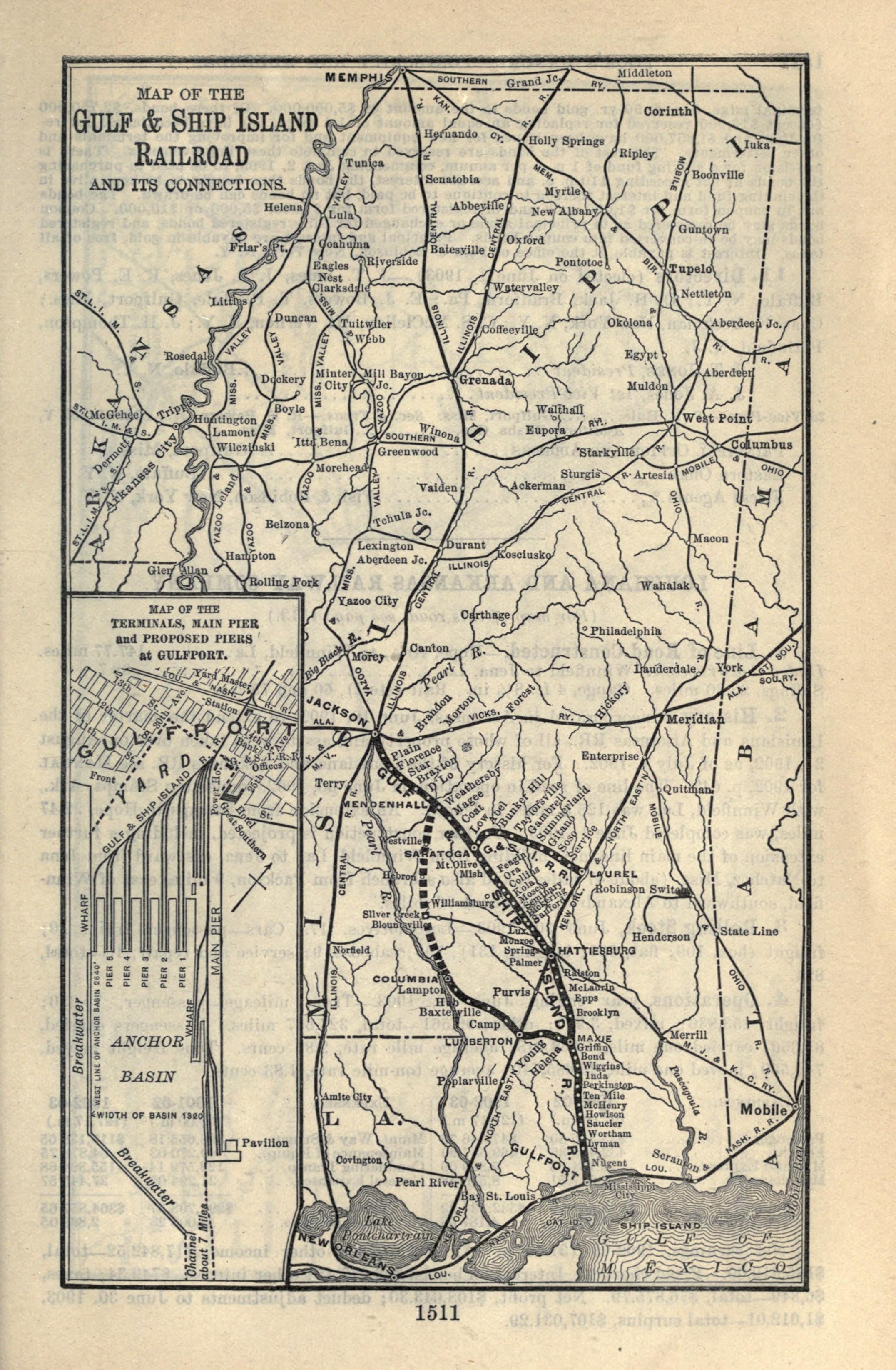 Gulf and Ship Island Railroad - Wikipedia